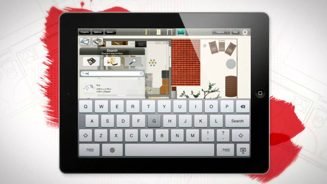HOME DESIGN 3D V2.0 (TRAILER US) APP APPLE IPHONE IPAD - YouTube