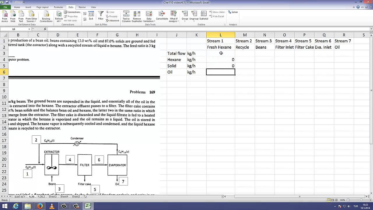Excel solver tutorial - YouTube