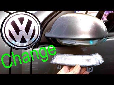 How to Change Mirror Signal VW Volkswagen