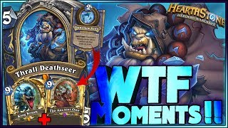 Hearthstone - EVOLVE WTF Moments - Frozen Throne Rng Moments