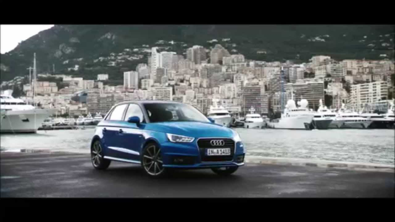 audi a1 audi a1 sportback sline quattro trailer youtube. Black Bedroom Furniture Sets. Home Design Ideas