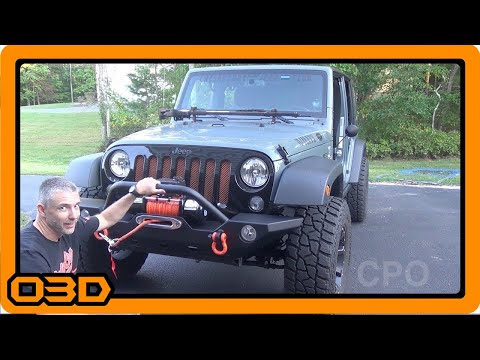 Barricade 9500lb Synthetic Winch Install -  Extreme Terrain