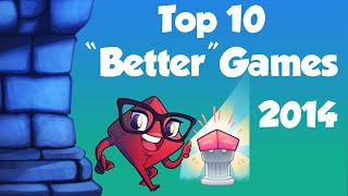 "Top 10 ""Better"" Board Games"
