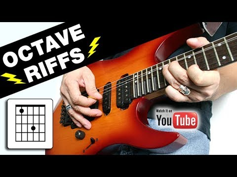 3 Ways to Organize Riffs with Unified Octaves