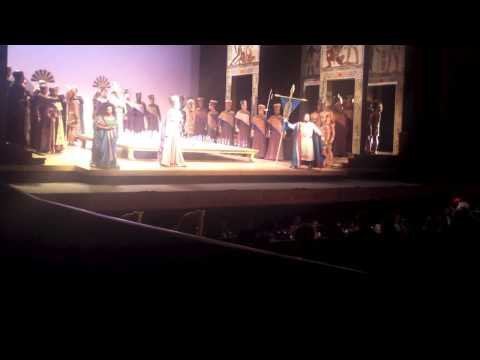 Aida Act I Dallas Opera (Latonia Moore)