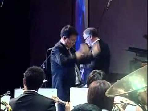 Solo Trumpet : Color of the wind by Nontri Orchestra Wind  24-09-2011