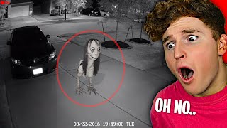 Most CURSED Things Caught On SECURITY CAMERAS..