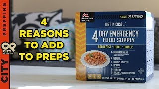 Why you should add freeze dried food to your preps (mountain house review)