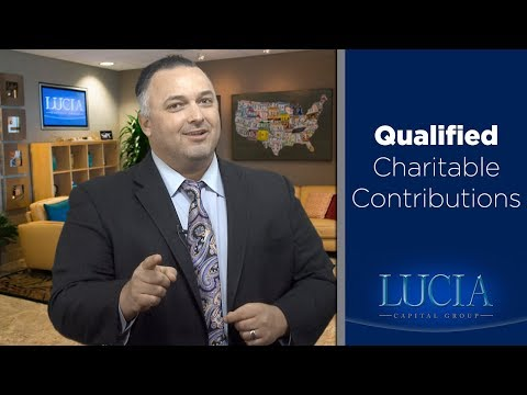 Qualified Charitable Contributions - Lucia Capital Group Weekly