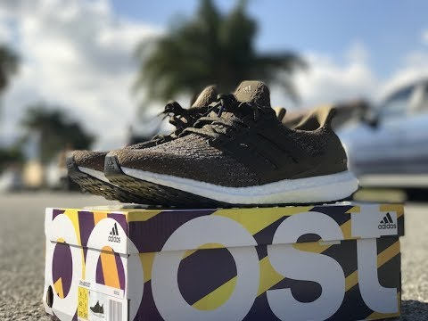 ce278d06b Adidas Ultra Boost 3.0 Trace Olive