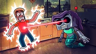 Minecraft | Who's Your Daddy? Robo Mom TURNS EVIL! (Secret Robot Wife)