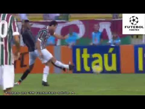 Gol de Fred Fluminense 1x0 Botafogo Campeonato Brasileiro 29 05 2016