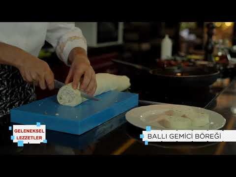 Geleneksel Lezzetler   Ballı Gemici Böreği