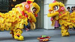 AFRICASIAEURO - Dragon dance and Lion dance in Kuala Lumpur Malaysia