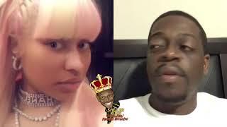 Shuler King - Nicki Minaj's New Man Has Her Name Tatted On His Neck!!!