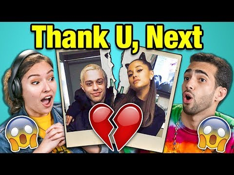 Adults React To Ariana Grande & Pete Davidson Breakup (thank