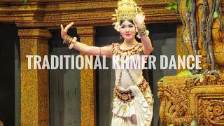 Cambodia Travel Vlog 013 - Traditional Cambodian Khmer Dance Show