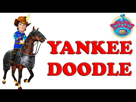 Yankee Doodle Dandy Song with Lyrics | American Patriotic Songs - Nursery Rhymes Songs for Children