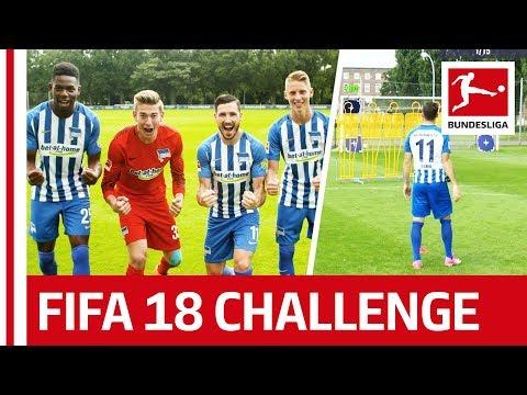 Leckie & Co. - EA SPORTS FIFA 18 Bundesliga Free Kick Challenge - Hertha BSC Berlin