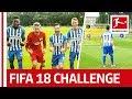 Leckie's Dream Day - EA SPORTS FIFA 18 Bundesliga Free Kick Challenge - Hertha Berlin