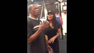 when training goes wrong w floyd mayweather sr and jean dancy