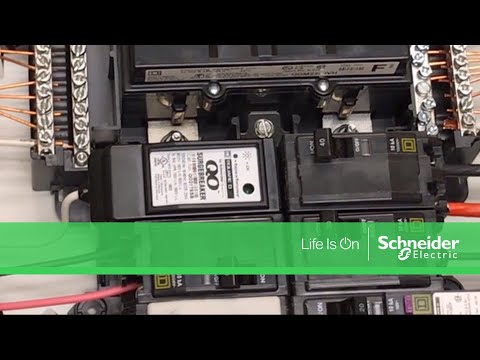 Installing QO2175SB Surge Protective Device Into QO™ Load Center | Schneider Electric Support