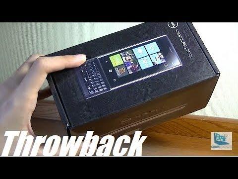 Retro Unboxing: Dell Venue Pro - Qwerty Windows Phone?!