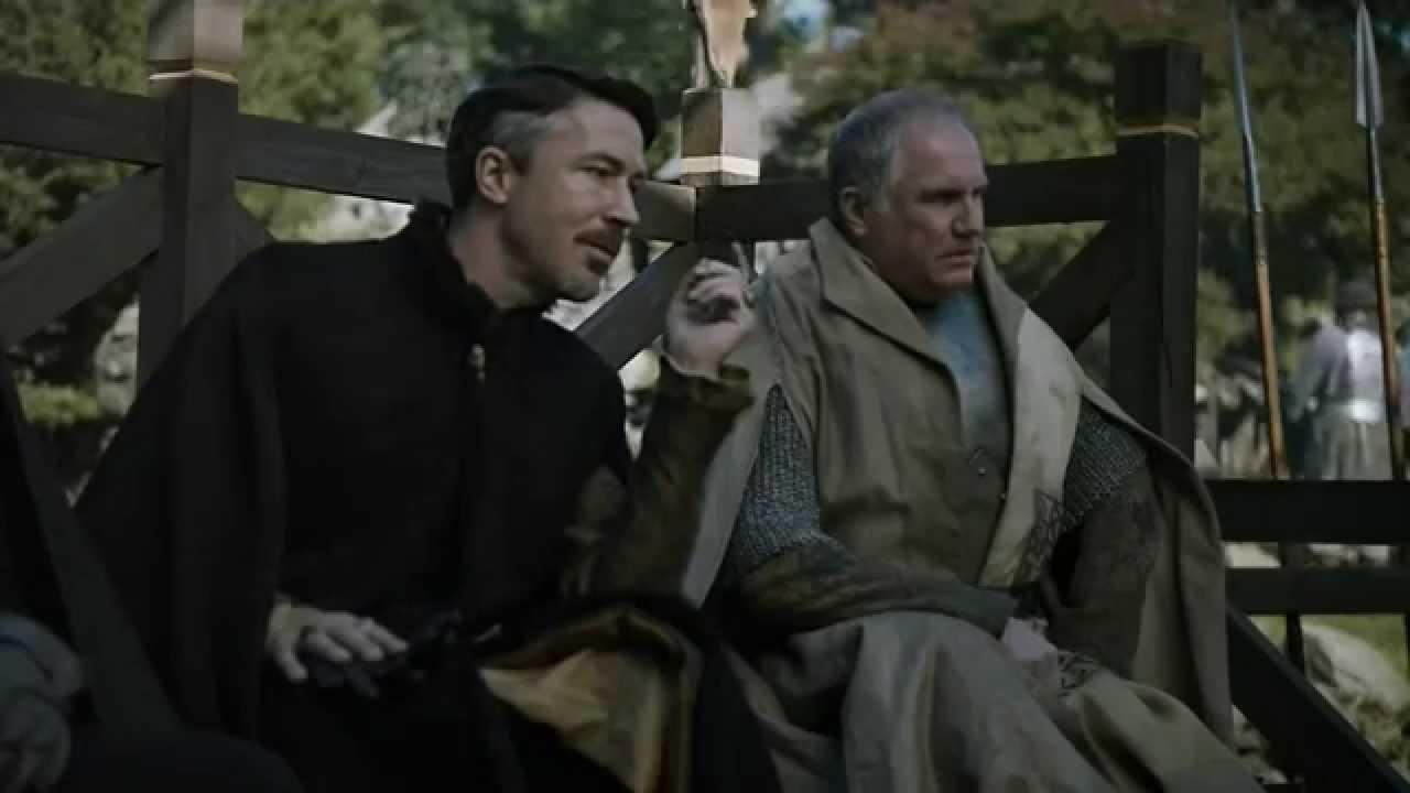 Game Of Thrones 5x1 Sansa Petyr Baelish And Lord Royce