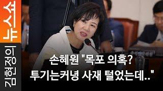 """손혜원 """"목포 의혹? 투기는커녕 사재 털었는데.."""" - 민주당 손혜원 의원"""