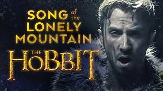 Repeat youtube video Song of The Lonely Mountain - The Hobbit - Peter Hollens