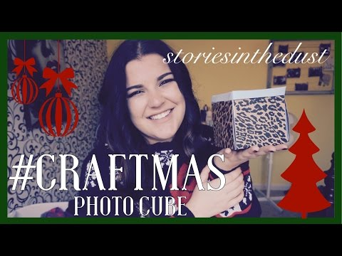 #CRAFTMAS DIY EXPLODING PHOTO CUBE | storiesinthedust