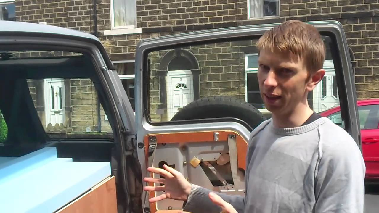 Land Rover Discovery 1 Camper Fit Out YouTube