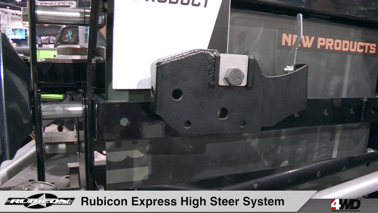 Rubicon Express Jeep Jk High Steer Kit Youtube