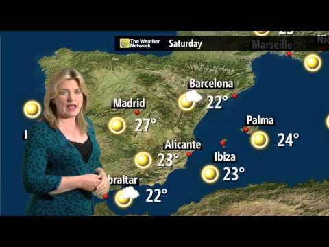European Holiday Weather Forecast - 16 May