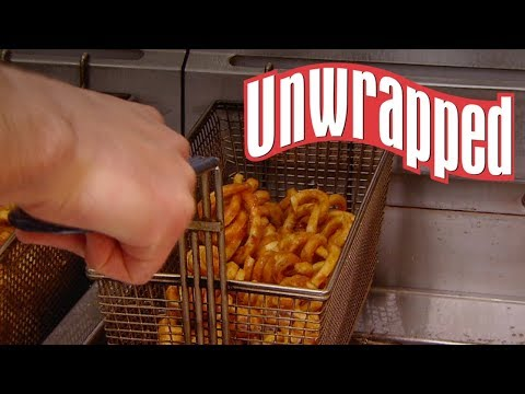 Mix Morning Show! - How Arby's Curly Fries Are Made (Courtesy of Unwrapped)