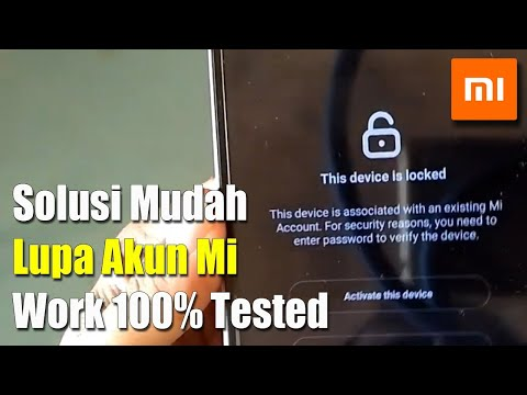 Terbaru!! Remove Micloud Xiaomi 2019 Tanpa Pc | Lupa Password Akun Mi, Lupa Nomor Hp, Reset Aja.