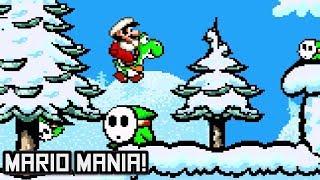 Mario Mania! (Demo) • Super Mario World ROM Hack