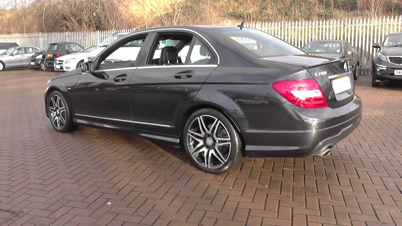 mercedes benz c class c200 cdi blueefficiency amg sport. Black Bedroom Furniture Sets. Home Design Ideas