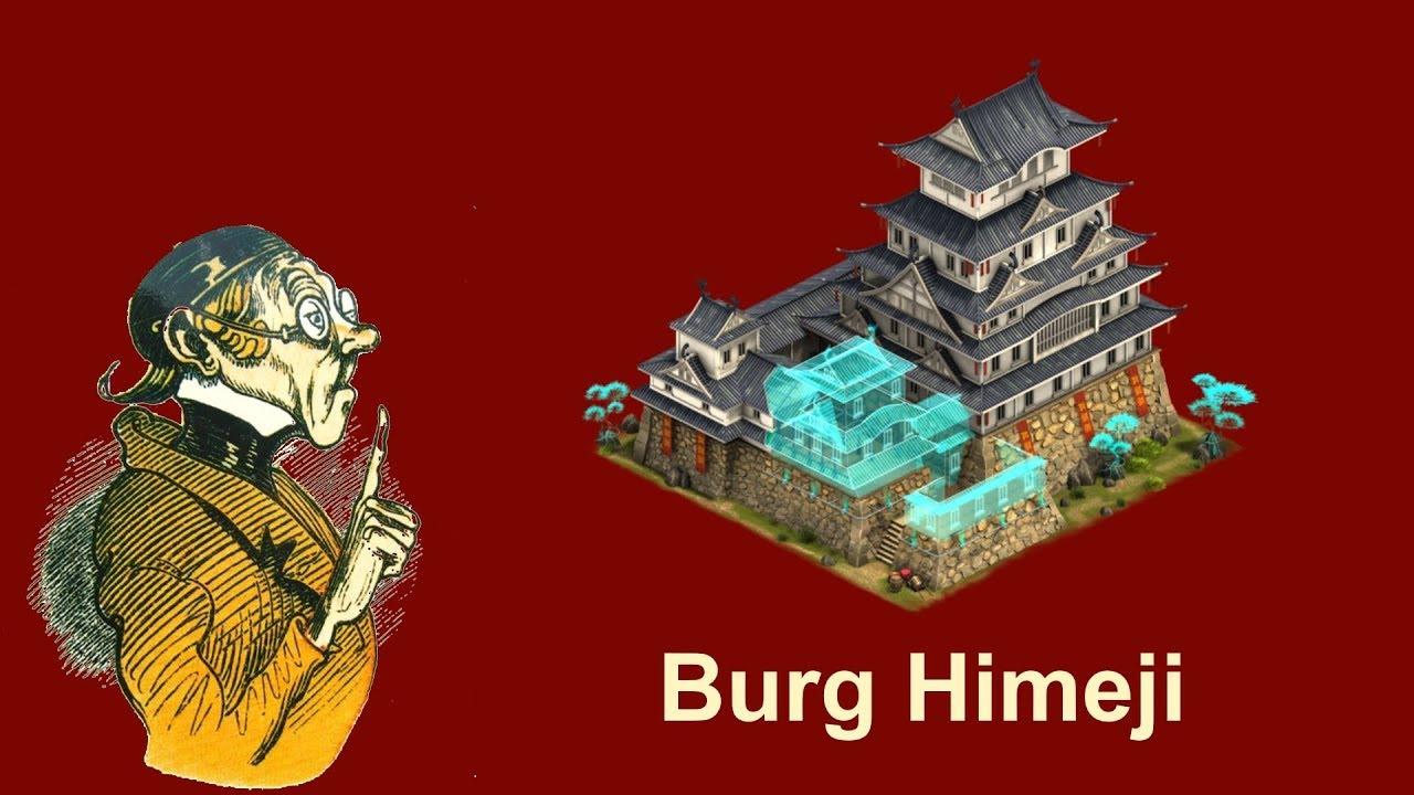 FoETipps: Burg Himeji, Legendäres Bauwerk in Forge of Empires (deutsch)