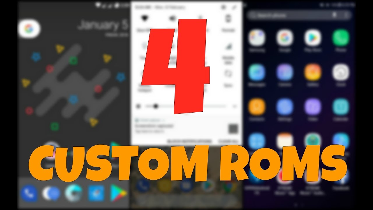 4 BEST CUSTOM ROMS FOR 2018 - Samsung Galaxy J7(5)
