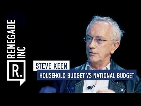 STEVE KEEN on Household Budget vs National Budget