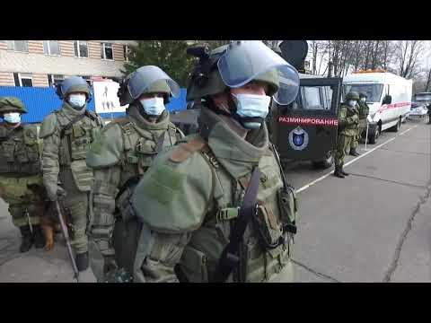 Визит делегации ВС Узбекистана в Международный противоминный центр ВС РФ