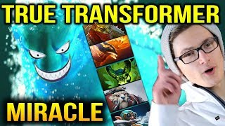 MIRACLE: His Morphling Transformer Like a Boss Dota 2 7.10