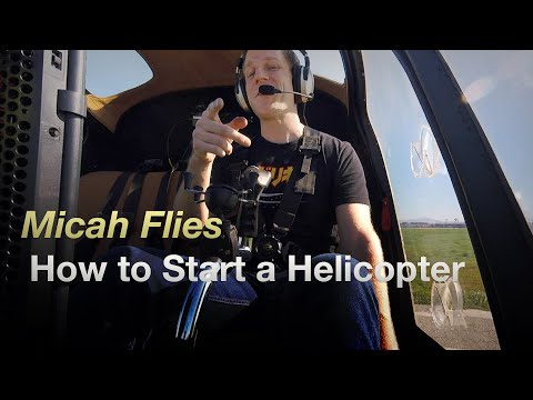 Helicopter Startup And Takeoff - Enstrom 280C