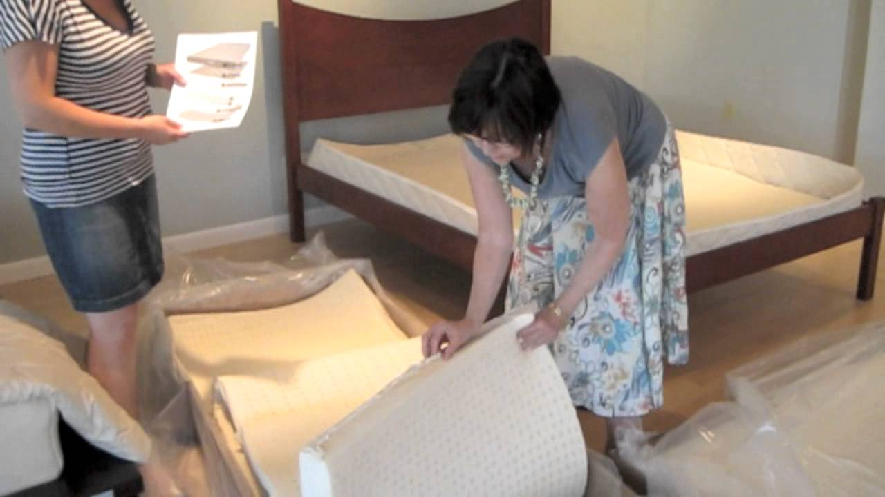 The Clean Bedroom - How to Assemble Your Green Sleep Vimala - YouTube