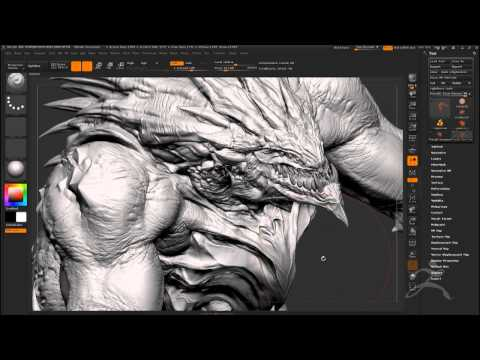 ZBrush at SIGGRAPH 2013 Blizzard Part 1
