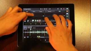 How to Remix Songs in Traktor DJ (iPad) with New Melodies and Rhythms using the Gater Effect