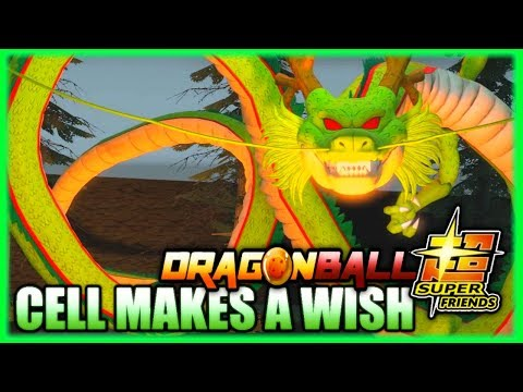 Dragonball Super Friends Lost Episode  Perfect Cell Makes A Wish