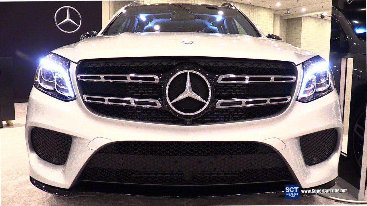 2017 Mercedes Benz Gls Cl 550 Suv Exterior Interior Walkaround 2016 New York Auto Show You