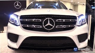 2017 Mercedes-Benz GLS-Class GLS 550 SUV - Exterior, Interior Walkaround - 2016 New York Auto Show